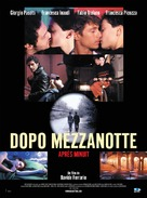Dopo mezzanotte - French Movie Poster (xs thumbnail)