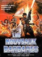 I nuovi barbari - French Movie Poster (xs thumbnail)