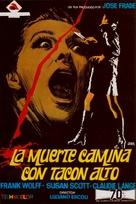 La morte cammina con i tacchi alti - Spanish Movie Poster (xs thumbnail)