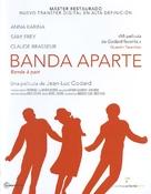 Bande à part - Spanish Movie Cover (xs thumbnail)