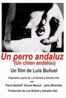 Un chien andalou - Spanish Movie Cover (xs thumbnail)