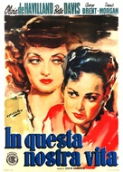 In This Our Life - Spanish Movie Poster (xs thumbnail)