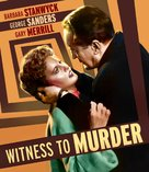 Witness to Murder - Blu-Ray movie cover (xs thumbnail)
