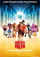 Wreck-It Ralph - Dutch Movie Poster (xs thumbnail)