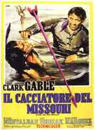 Across the Wide Missouri - Italian Movie Poster (xs thumbnail)