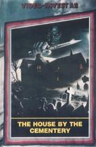 Quella villa accanto al cimitero - Swedish VHS movie cover (xs thumbnail)