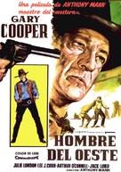 Man of the West - Spanish Movie Poster (xs thumbnail)