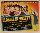 Blondie in Society - Movie Poster (xs thumbnail)