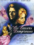 Les liaisons dangereuses - French Movie Poster (xs thumbnail)