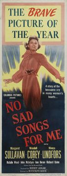 No Sad Songs for Me - Movie Poster (xs thumbnail)