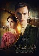 Tolkien - Romanian Movie Poster (xs thumbnail)