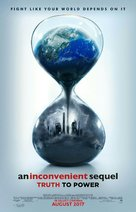 An Inconvenient Sequel: Truth to Power - Indonesian Movie Poster (xs thumbnail)