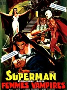Santo vs. las mujeres vampiro - French Movie Poster (xs thumbnail)
