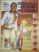 Ammazzali tutti e torna solo - Danish Movie Poster (xs thumbnail)