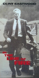 In The Line Of Fire - Australian Movie Poster (xs thumbnail)