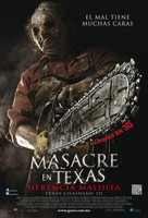 Texas Chainsaw Massacre 3D - Mexican Movie Poster (xs thumbnail)