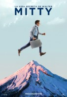 The Secret Life of Walter Mitty - Spanish Movie Poster (xs thumbnail)