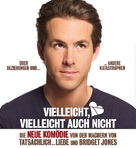 Definitely, Maybe - German Movie Poster (xs thumbnail)