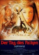 Ladyhawke - German Movie Poster (xs thumbnail)