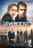 Divergent - Italian DVD cover (xs thumbnail)
