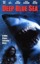 Deep Blue Sea - German VHS movie cover (xs thumbnail)
