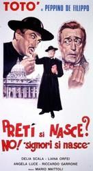 Signori si nasce - Italian Movie Poster (xs thumbnail)