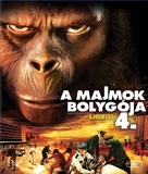 Conquest of the Planet of the Apes - Hungarian Blu-Ray cover (xs thumbnail)