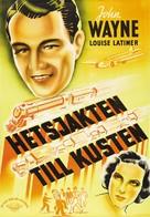 California Straight Ahead! - Swedish Movie Poster (xs thumbnail)