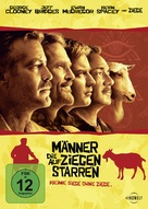 The Men Who Stare at Goats - German Movie Cover (xs thumbnail)