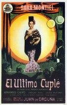 El último cuplé - Spanish Movie Poster (xs thumbnail)
