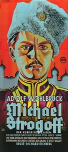 Michel Strogoff - German Movie Poster (xs thumbnail)
