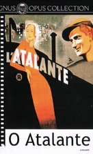 L'Atalante - Brazilian DVD movie cover (xs thumbnail)