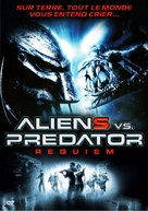 AVPR: Aliens vs Predator - Requiem - French DVD cover (xs thumbnail)