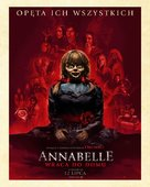 Annabelle Comes Home - Polish Movie Poster (xs thumbnail)
