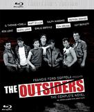 The Outsiders - British Blu-Ray movie cover (xs thumbnail)