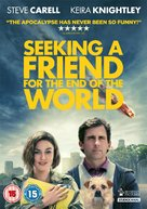 Seeking a Friend for the End of the World - British DVD movie cover (xs thumbnail)