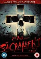 The Sacrament - British DVD cover (xs thumbnail)