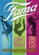 Fame - Mexican Movie Poster (xs thumbnail)