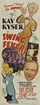 Swing Fever - Movie Poster (xs thumbnail)