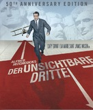 North by Northwest - German Blu-Ray cover (xs thumbnail)