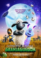 A Shaun the Sheep Movie: Farmageddon - Spanish Movie Poster (xs thumbnail)