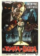 The Tomb of Ligeia - Italian Movie Poster (xs thumbnail)