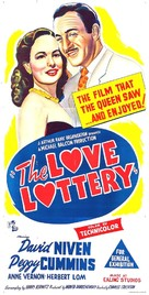 The Love Lottery - Australian Movie Poster (xs thumbnail)