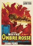 Stagecoach - Italian Movie Poster (xs thumbnail)