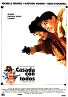 Married to the Mob - Spanish Movie Poster (xs thumbnail)