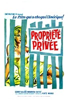 Private Property - Belgian Movie Poster (xs thumbnail)