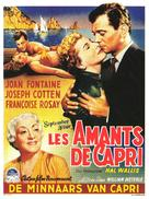 September Affair - Belgian Movie Poster (xs thumbnail)