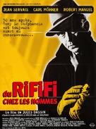Du rififi chez les hommes - French Re-release poster (xs thumbnail)