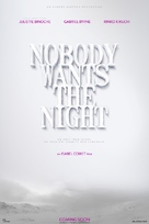 Nobody Wants the Night - Spanish Movie Poster (xs thumbnail)