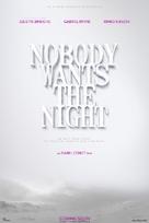 Nobody Wants the Night - Spanish Movie Poster (xs thumbnail)